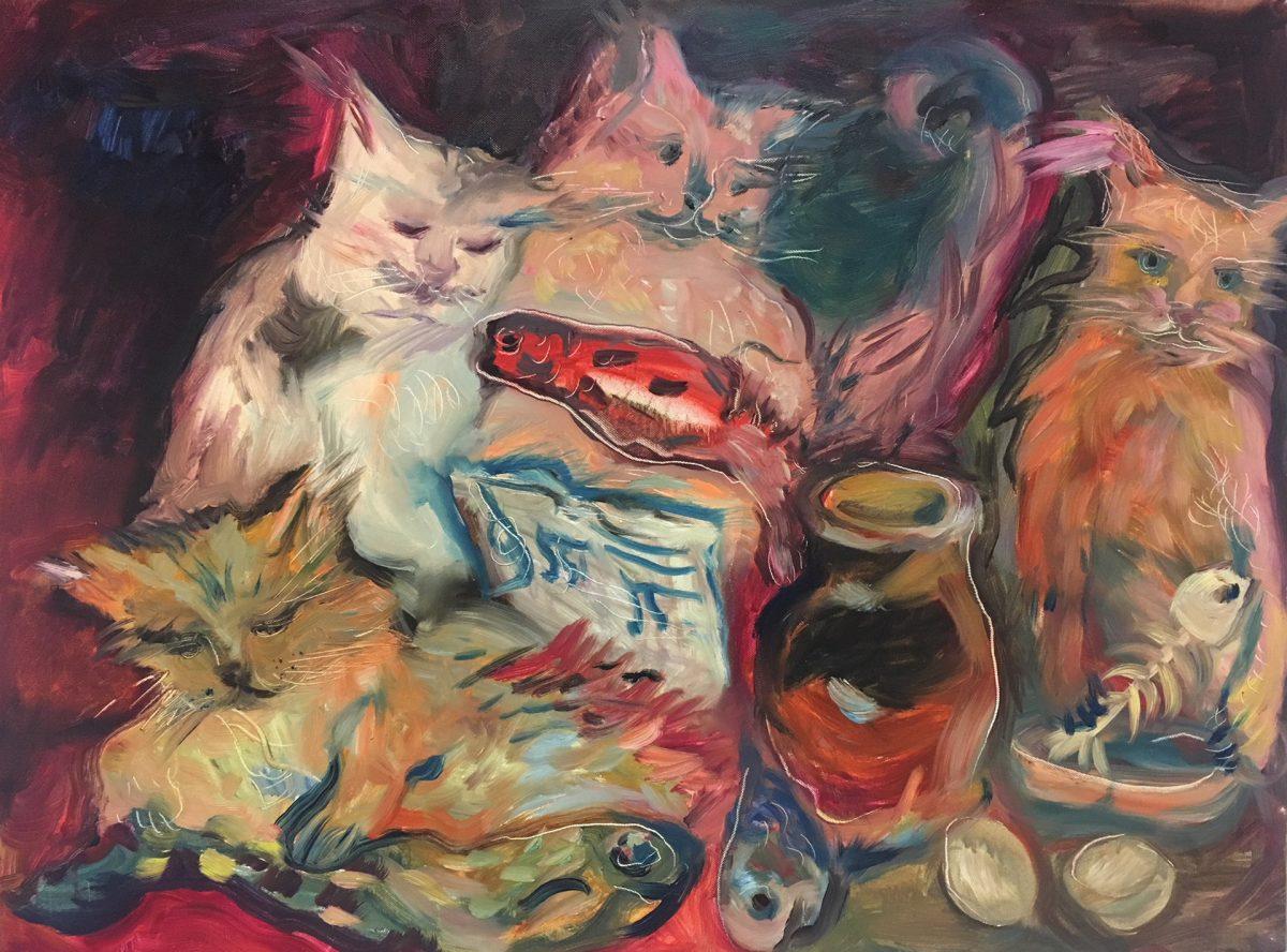 Daniela Danova - Concerto di gatti, uova e pesci